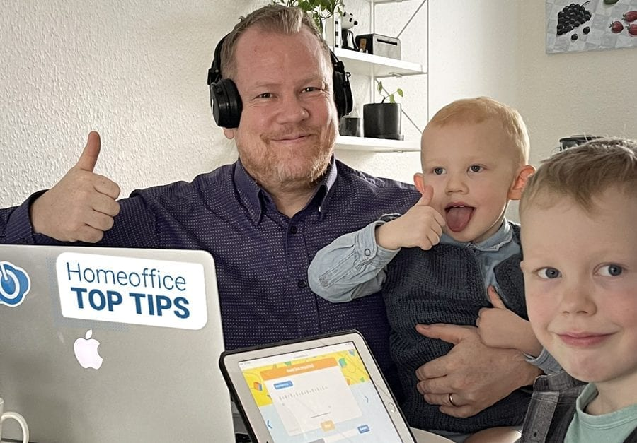 HR-ONs top tips for working well from home